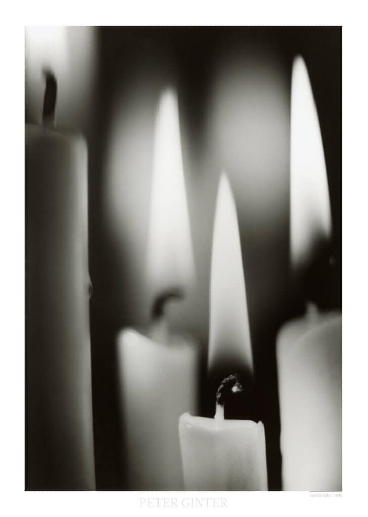 Candle light / 1996 © Peter Ginter